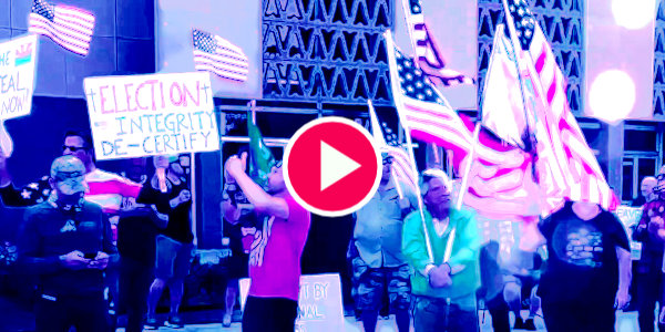 Arizona Republicans Protesting call for decertification of election results…
